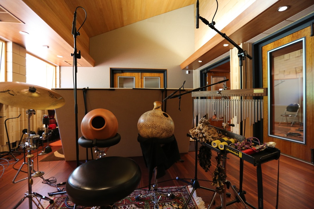 Percussion in Booth A