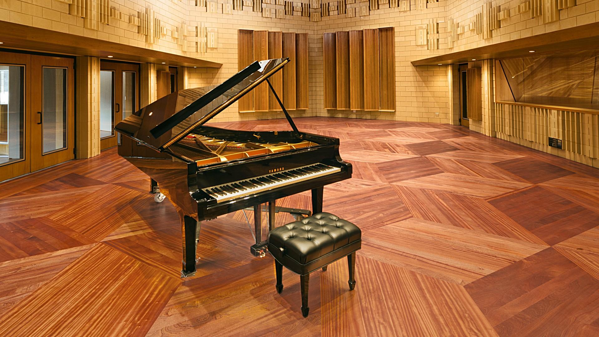 Yamaha CF9 in the Music Room