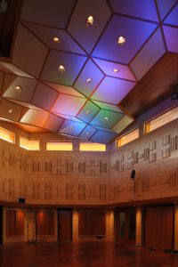 Our ceiling cloud makes the environment sound and look beautiful.
